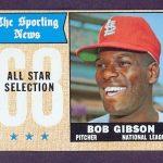 1968 Topps Bob Gibson