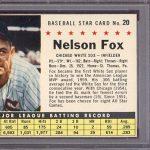 1961 Post Cereal Nellie Fox PSA 9