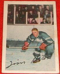 1952-53 Parkhurst Tim Horton