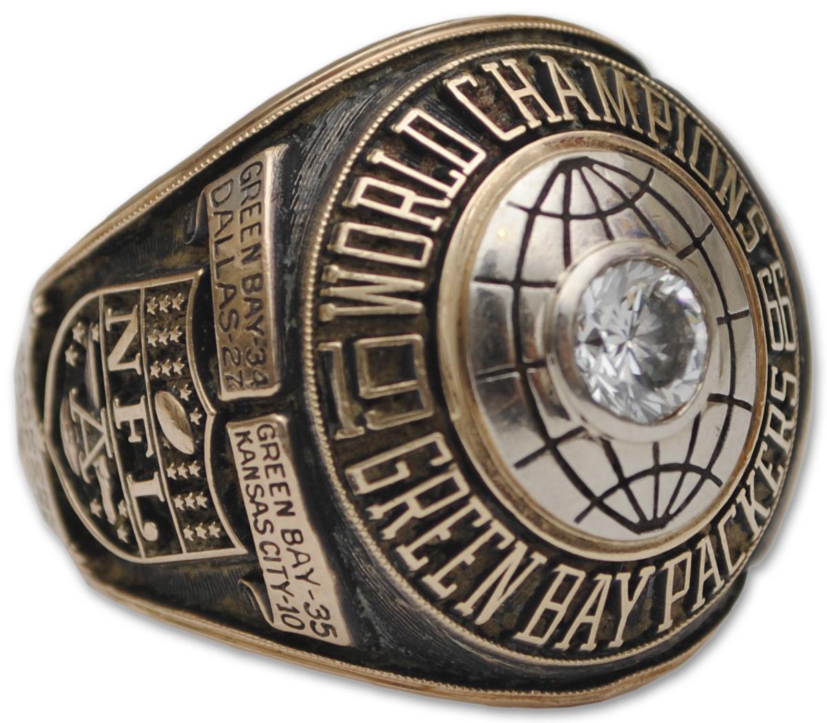 Super Bowl I ring (click to enlarge)