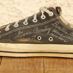 Oldest NBA game worn shoes Gene Conley