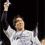 Autographed Hideki Matsui photo