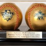 Rawlings Gold Sport Collectibles Baseballs