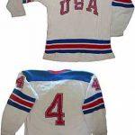 Game-worn Herb Brooks 1970 USA jersey
