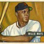 Willie Mays rookie card