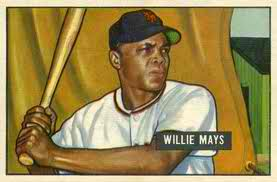 Willie Mays rookie card
