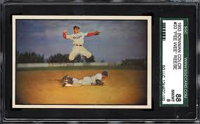 Pee Wee Reese 1953 Bowman Color