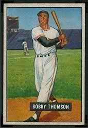Bobby Thomson 1951 Bowman