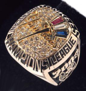 2003 NY Yankees AL Championship ring