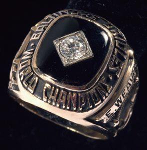 Earl Weaver 1966 World Series ring
