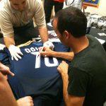 Galaxy jersey signed Landon Donovan