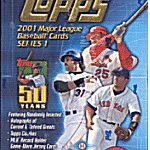 Topps 2001 box