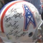$2 million signed Oilers helmet