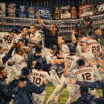 Official 2010 World Series painting