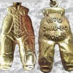 Ohio State gold pants