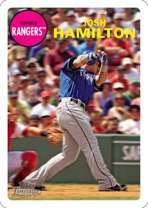 Topps Lineage Baseball Topps 3D JHamilton