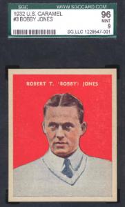 Bobby Jones 1932 US Caramel