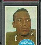 Jim Brown 1960 Topps football
