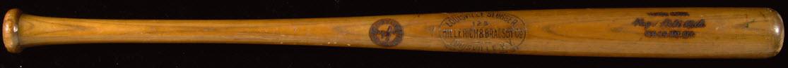 Sing Sing Prison Babe Ruth used bat