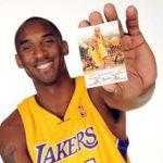 Panini signed Kobe Bryant card