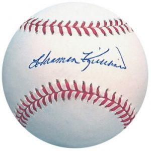 Autographed Harmon Killebrew baseball