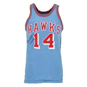 Vintage Lenny Wilkins Hawks jersey