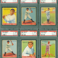 PSA 6 graded 1933 Goudey baseball set