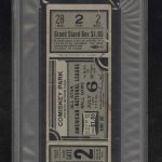 Ticket 1933 All Star Game