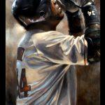 Brian Fox painting-David Ortiz
