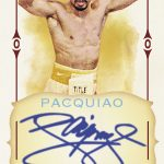 Allen and Ginter Pacquiao autograph