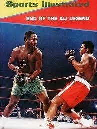 1971 Sports Illustrated Ali vs Frazier