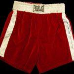 Muhammad Ali fight worn trunks 1971 vs Joe Frazier