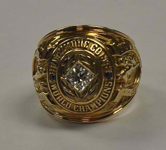 Art Donovan 1958 NFL Championship ring