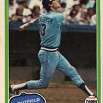 Dale Murphy 1981 Topps