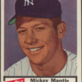 Mickey Mantle 1954 Dan Dee