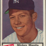 Mickey Mantle 1954 Dan Dee