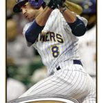 Ryan Braun 2012 Topps baseball card