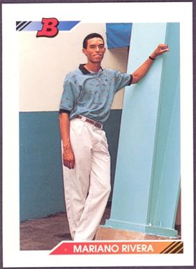 Mariano Rivera Bowman rookie card