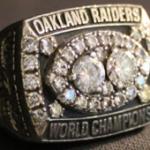 Super Bowl XVI ring Ray Guy Raiders