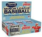 Minor League Heritage Baseball cards 2011