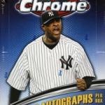 2011 Topps Chrome box