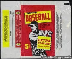 1961 Topps wrapper