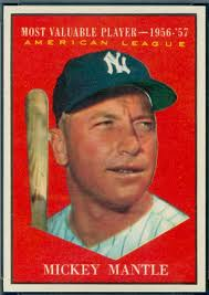 1961 Topps Mantle AS