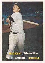 1957 Topps Mantle