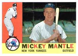 1960 Topps Mantle