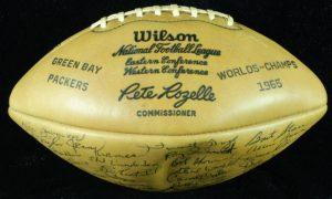 NFL team signed football
