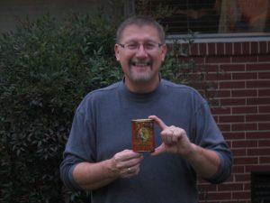 Ty Cobb tobacco tin owner Allen Wooten