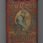 Tobacco Tin Ty Cobb brand