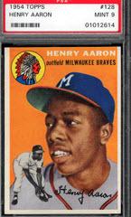 1954 Topps Hank Aaron Rookie Cards