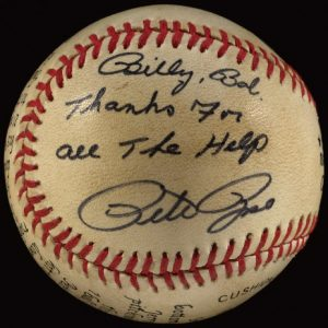 4000 hit baseball Pete Rose